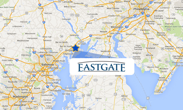 Eastgate MD Location Map