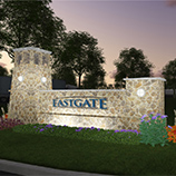 Eastgate 95 Entry Sign - Night